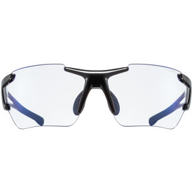 UVEX Sportstyle 803 Race VM Sportsbriller, black/blue